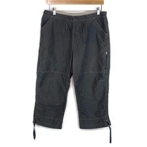 Kuhl Women's Kuhldry Grey Crop Pants Sz Large